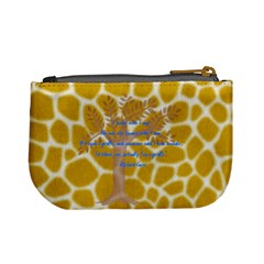 Giraffe s For Cort By Karen Clark   Mini Coin Purse   B4ffic205joi   Www Artscow Com Back