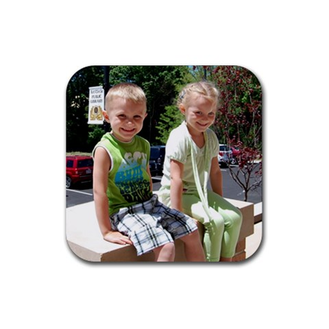 Kids Coaster  By Faith Hale   Rubber Coaster (square)   Oji92cmobsjb   Www Artscow Com Front