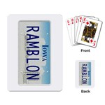 Rods Playing cards - Playing Cards Single Design