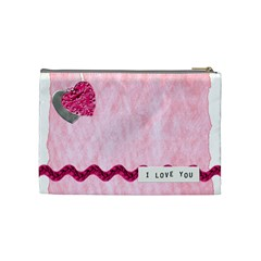 Erin By Taylor   Cosmetic Bag (medium)   Tq80h52ckddg   Www Artscow Com Back