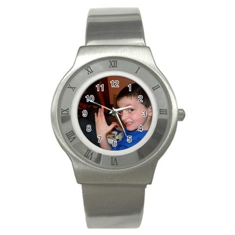 Watch By Crystal Rawl   Stainless Steel Watch   Zuj4uqx0dswr   Www Artscow Com Front