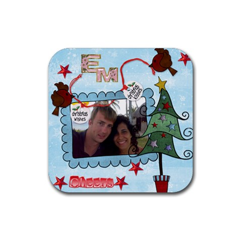 By Sweetroselief   Rubber Coaster (square)   V2n8otpdn2om   Www Artscow Com Front
