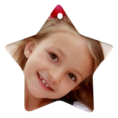 Soph Ornament 1 By Courtney   Ornament (star)   0v540v88emyr   Www Artscow Com Front
