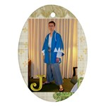 Jeremy ornament - Ornament (Oval)