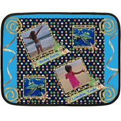 Two Sided Fleece By Christy Fralin   Double Sided Fleece Blanket (mini)   Klhakfdu4wrp   Www Artscow Com 35 x27 Blanket Back