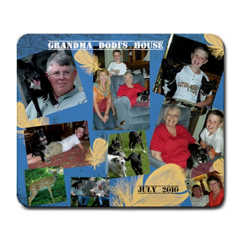 Grandmadodi shouse Mousepad By Kt Sparks   Collage Mousepad   Nd1du34fb28e   Www Artscow Com 9.25 x7.75 Mousepad - 1