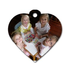 Dogtag By Johannes   Dog Tag Heart (two Sides)   6qkmcvjnw96g   Www Artscow Com Front