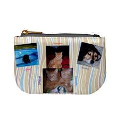 Dog/cat By Karen Clark   Mini Coin Purse   G4zgjdnj777e   Www Artscow Com Front