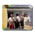 Happy Birthday Pepaw - Collage Mousepad
