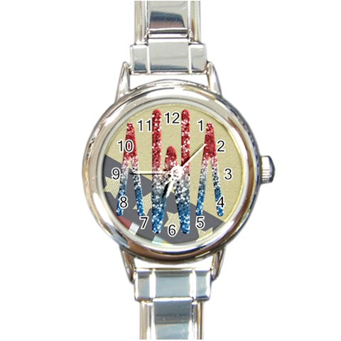 Awawatch By Taylor   Round Italian Charm Watch   Es2xynu95pan   Www Artscow Com Front