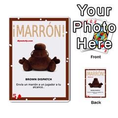 Marrón! By Srlobo   Multi Purpose Cards (rectangle)   Niarj3ju6g3d   Www Artscow Com Front 51