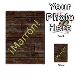 Marrón! By Srlobo   Multi Purpose Cards (rectangle)   Niarj3ju6g3d   Www Artscow Com Back 51
