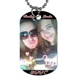 Bailey & Linda - Dog Tag (One Side)