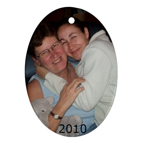 Kelly By Pat   Ornament (oval)   Hbvzmaza92cx   Www Artscow Com Front