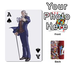 Ace Pwcards By Wes   Playing Cards 54 Designs   Mifao410c0wj   Www Artscow Com Front - SpadeA