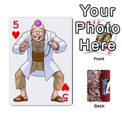 Pwcards By Wes   Playing Cards 54 Designs   Mifao410c0wj   Www Artscow Com Front - Heart5