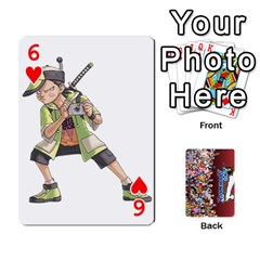 Pwcards By Wes   Playing Cards 54 Designs   Mifao410c0wj   Www Artscow Com Front - Heart6