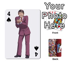 Pwcards By Wes   Playing Cards 54 Designs   Mifao410c0wj   Www Artscow Com Front - Spade4