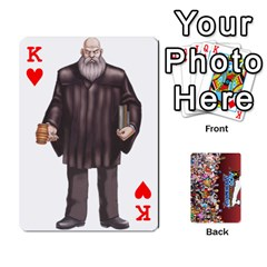 King Pwcards By Wes   Playing Cards 54 Designs   Mifao410c0wj   Www Artscow Com Front - HeartK