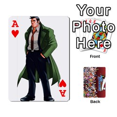 Ace Pwcards By Wes   Playing Cards 54 Designs   Mifao410c0wj   Www Artscow Com Front - HeartA