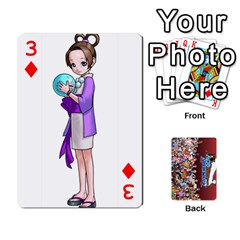 Pwcards By Wes   Playing Cards 54 Designs   Mifao410c0wj   Www Artscow Com Front - Diamond3