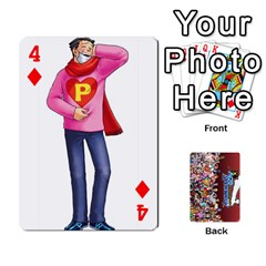 Pwcards By Wes   Playing Cards 54 Designs   Mifao410c0wj   Www Artscow Com Front - Diamond4