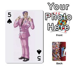 Pwcards By Wes   Playing Cards 54 Designs   Mifao410c0wj   Www Artscow Com Front - Spade5