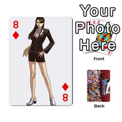 Pwcards By Wes   Playing Cards 54 Designs   Mifao410c0wj   Www Artscow Com Front - Diamond8
