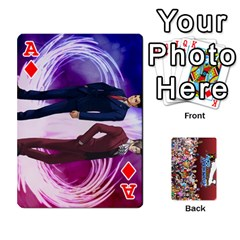Ace Pwcards By Wes   Playing Cards 54 Designs   Mifao410c0wj   Www Artscow Com Front - DiamondA