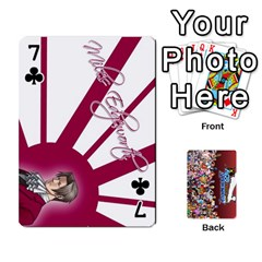 Pwcards By Wes   Playing Cards 54 Designs   Mifao410c0wj   Www Artscow Com Front - Club7