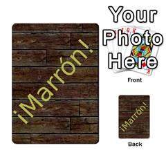 Marrón! 2 By Srlobo   Multi Purpose Cards (rectangle)   4vilkj986l98   Www Artscow Com Back 13