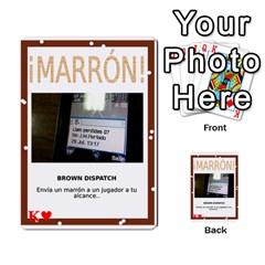 Marrón! 2 By Srlobo   Multi Purpose Cards (rectangle)   4vilkj986l98   Www Artscow Com Front 42