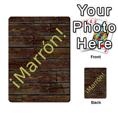 Marrón! 2 By Srlobo   Multi Purpose Cards (rectangle)   4vilkj986l98   Www Artscow Com Back 47