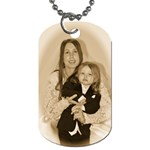Me and my peanut - Dog Tag (One Side)