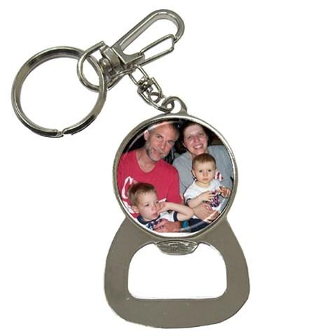 Opener By Joanne   Bottle Opener Key Chain   E3xescuo84t5   Www Artscow Com Front