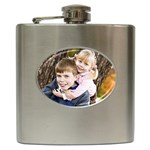 TristMelo Flask - Hip Flask (6 oz)