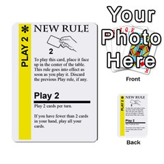 Ad Fluxx By Boanarrow   Multi Purpose Cards (rectangle)   Zcoqvqhecn22   Www Artscow Com Front 35