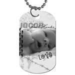 Jacob Dog Tag - Dog Tag (One Side)