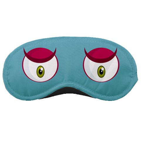 Purple Eyes By Paula Rossen   Sleeping Mask   Bhivc24nxr17   Www Artscow Com Front