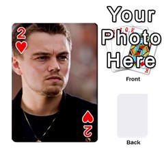 Leo Playing Cards By Allie   Playing Cards 54 Designs   Eg04m0bxu6f9   Www Artscow Com Front - Heart2