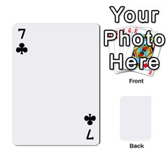 Leo Playing Cards By Allie   Playing Cards 54 Designs   Eg04m0bxu6f9   Www Artscow Com Front - Club7