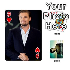 Leo Playing Cards By Allie   Playing Cards 54 Designs   8plaev08x09t   Www Artscow Com Front - Heart9