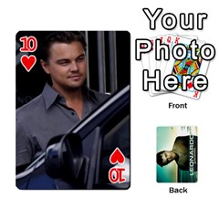 Leo Playing Cards By Allie   Playing Cards 54 Designs   8plaev08x09t   Www Artscow Com Front - Heart10