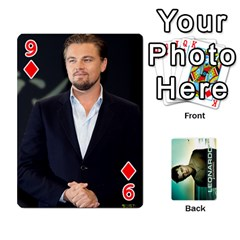 Leo Playing Cards By Allie   Playing Cards 54 Designs   8plaev08x09t   Www Artscow Com Front - Diamond9