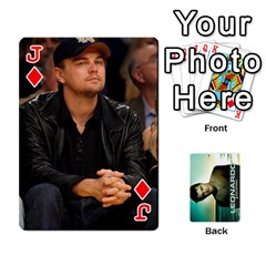Jack Leo Playing Cards By Allie   Playing Cards 54 Designs   8plaev08x09t   Www Artscow Com Front - DiamondJ