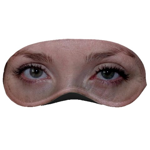 My Eyes By Brenda   Sleeping Mask   2bn3ar3cda03   Www Artscow Com Front