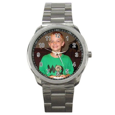 Watch By Kathy Rayhons   Sport Metal Watch   Djwvrwl13l6f   Www Artscow Com Front