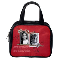 My Precious Ones By Mitch Carvalho   Classic Handbag (two Sides)   Mdhx36ws61ak   Www Artscow Com Back