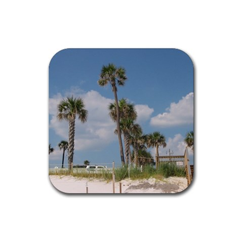 Coasters By Teresa Dement   Rubber Coaster (square)   Yn6q5fslf1am   Www Artscow Com Front