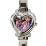my girls watch - Heart Italian Charm Watch